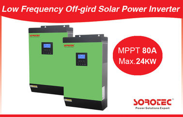 চীন 5Kva 48Vdc Pure Sine Wave Inverter With 50A Pwm Solar Charger 6Pcs Parallel কারখানা