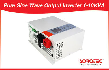 Long Back up Pure Sine Wave DC-AC Solar Power Inverters with Bypass Voltage 1-12KW