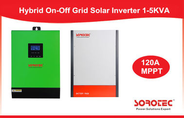 চীন On/Off Hybrid Solar Inverter 3000W 60V Single Phase Inverter Built-in MPPT 120A কারখানা